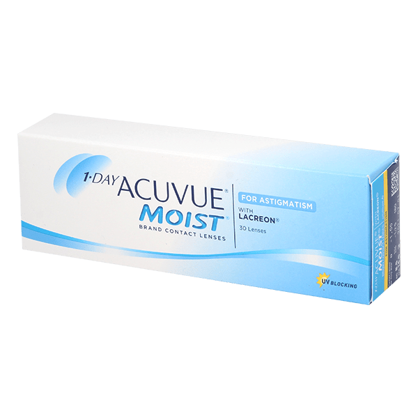 Image of 1-Day Acuvue Moist for Astigmatism 30