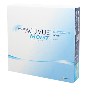1-Day Acuvue Moist for Astigmatism 90 Tageslinsen product image