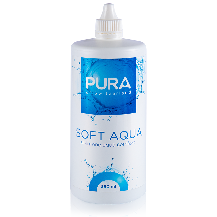 PuraSoft Aqua 360ml product image