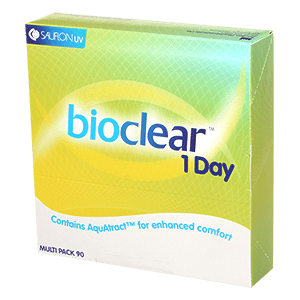 Bioclear 1-Day daily 90pcs Box contact lenses by Sauflon product image