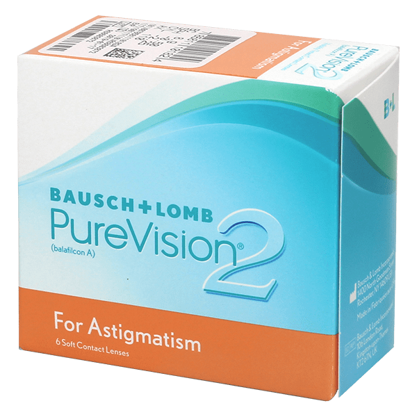 942dc0e0c PureVision 2 HD for Astigmatism 6 Large view. 1 x 6 toric monthly lenses  only 64.80 CHF