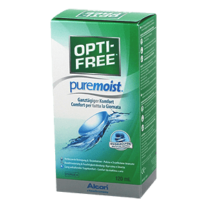 OptiFree PureMoist 120ml product image