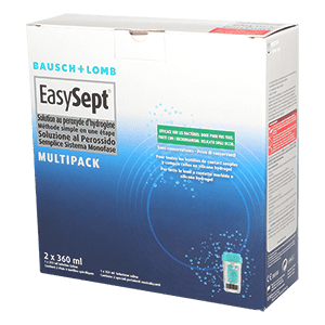 EasySept Multipack - 2 x 360ml and Saline Solution product image
