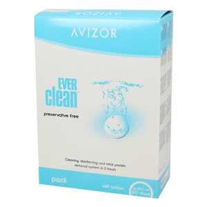 Avizor EVERclean 2x350ml und 90 Tabletten