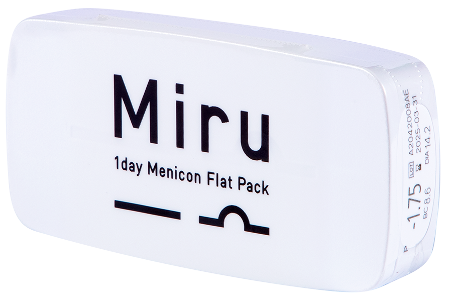 Miru 1Day Menicon Flat Pack - 30 product image