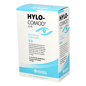Hylo-Comod Duo 2x10ml teardrops product image