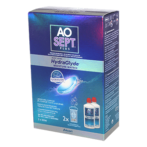 AOSEPT PLUS 2x360ml Plus with HydraGlyde