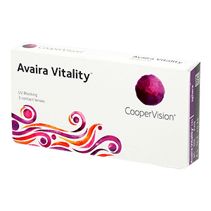 Avaira Vitality spheric contact lens 3pcs Box product image
