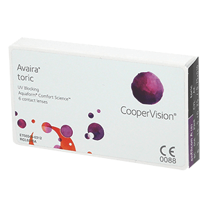 Avaira Toric contact lens 6pcs Box product image