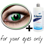 contact lenses green (reptil) product image