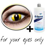 contact lenses Yellow (Yellow Cat) product image