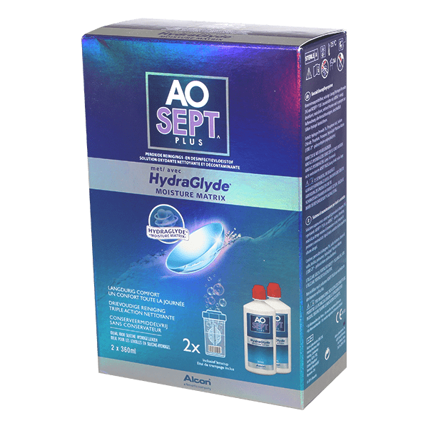 Image of AOSEPT PLUS mit HydraGlyde - 2 x 360ml